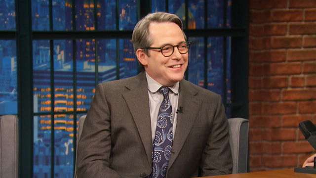 Matthew Broderick Grew Up with Kenneth Lonergan