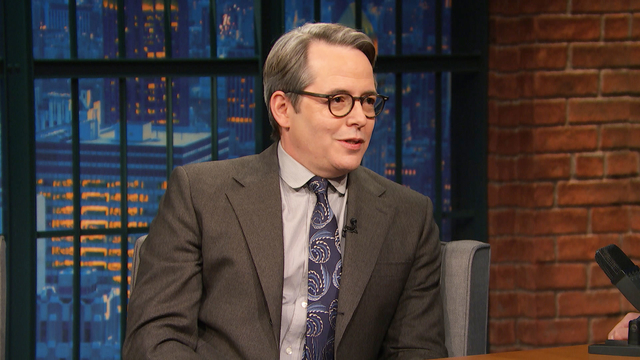 Matthew Broderick Is Scared to Play a Real Person