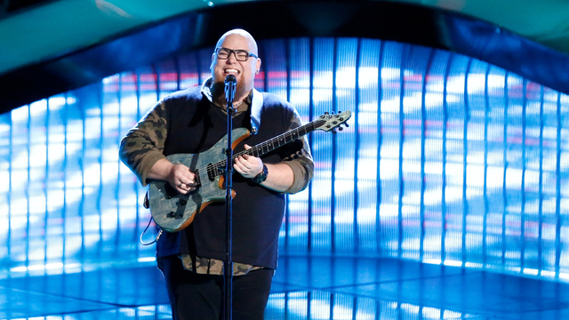 "Jesse Larson Blind Audition: ""Jealous Guy"""
