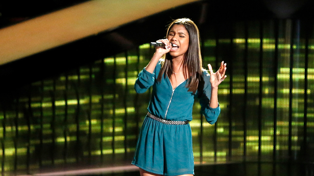 "Aliyah Moulden Blind Audition: ""Hound Dog"""