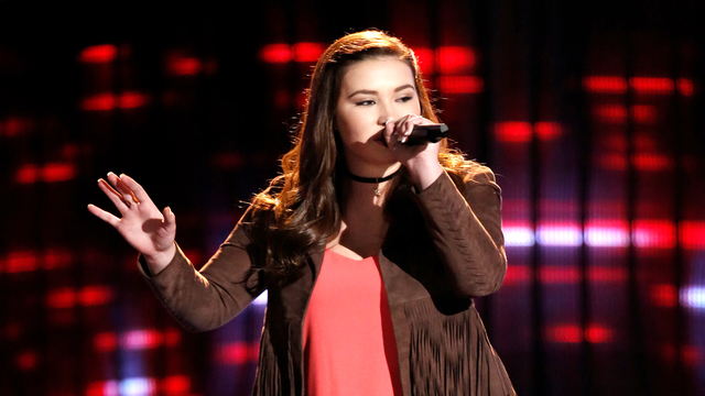 "Savannah Leighton Blind Audition: ""Unconditionally"""