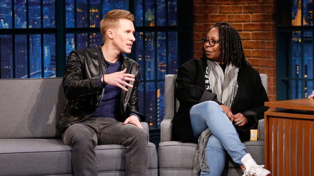 Oscars Brought Whoopi Goldberg and Dustin Lance Black Together