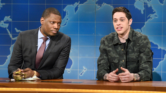 Weekend Update: Pete Davidson's First Impressions of the Trump Administration