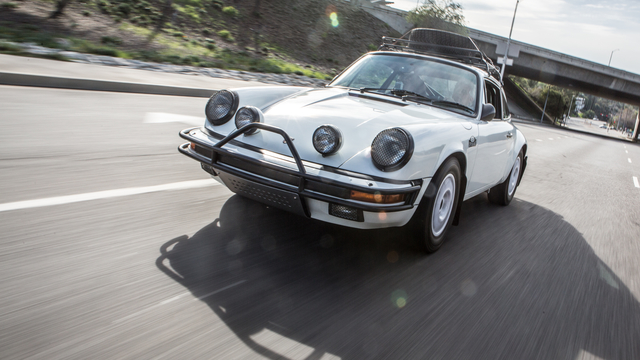 1985 Rally Porsche 911 Carrera