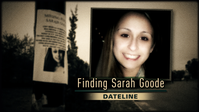 Finding Sarah Goode