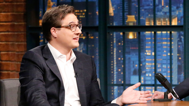 President Nixon Inspired Chris Hayes' Latest Book