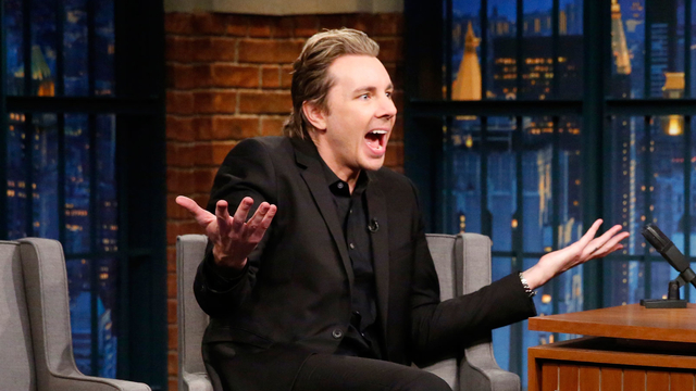 Dax Shepard Solved a Crime on His Way to Late Night