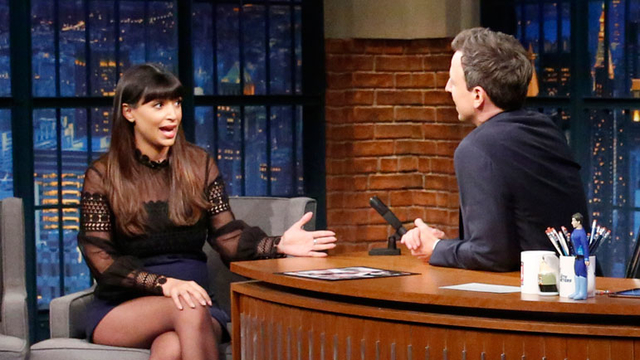 Kicking and Screaming Host Hannah Simone Built a Hazmat Suit