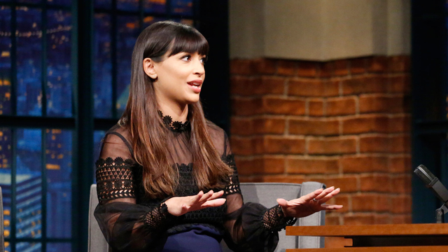 Hannah Simone Made Her Own Music Videos in Saudi Arabia