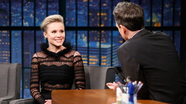 Kristen Bell Got Ted Danson Stuck in an Escape Room