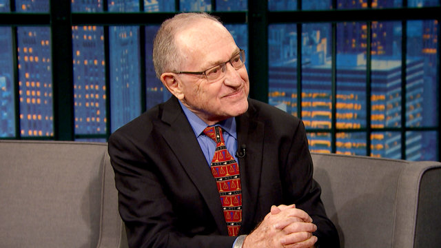 Alan Dershowitz Was the Only Democrat Eating at Mar-a-Lago