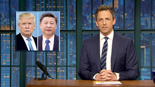 Trump Meets with Chinese President, National Tell a Lie Day - Monologue