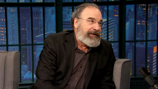 Mandy Patinkin Has a Ton of Smurf Swag