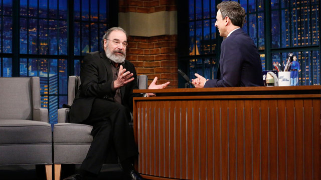 Mandy Patinkin Travels to Help Refugees After Homeland Wraps