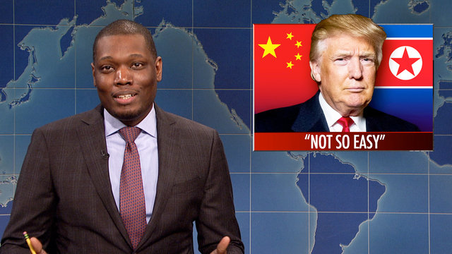 Weekend Update on Failed North Korean Missile Launch
