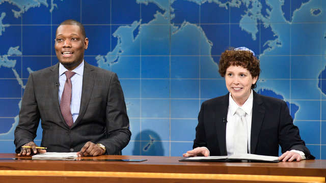 Weekend Update: Jacob the Bar Mitzvah Boy on Passover 3