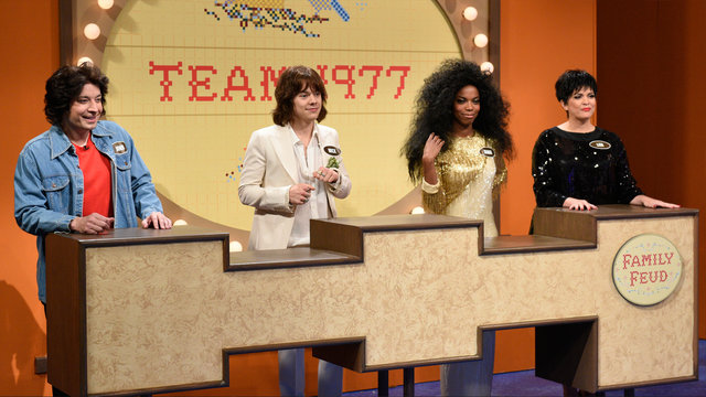 Celebrity Family Feud: Time Travel Edition