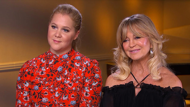 Amy Schumer On If She's Ever Asked Goldie Hawn For Relationship Advice!