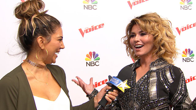'The Voice': Shania Twain On Getting The First-Ever 5th Chair