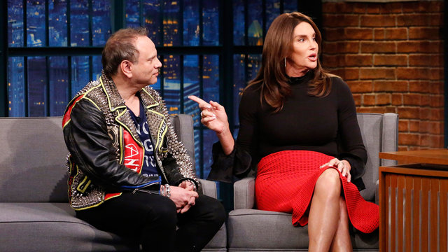 Caitlyn Jenner's Style Is Rubbing Off on Buzz Bissinger