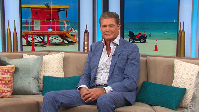 David Hasselhoff On His 'Guardians Of The Galaxy Vol. 2' Song & 'Baywatch' Cameo