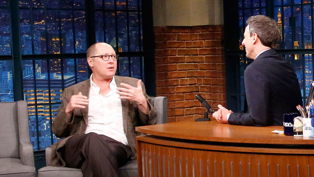 James Spader Awkwardly Posed for Fan Photos with His Fly Open