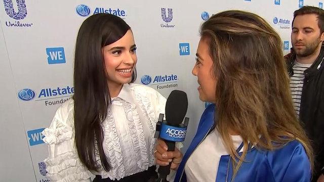 Sofia Carson Teases Her 'DWTS' Performance & Shares 'Descendants 2' Details