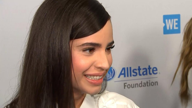 Sofia Carson On Her Upcoming Britney Spears Tribute With Hailee Steinfeld & Kelsea Ballerini