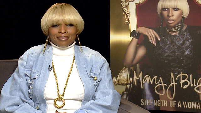 Mary J. Blige On How Her Divorce Shaped New Album 'Strength Of A Woman'
