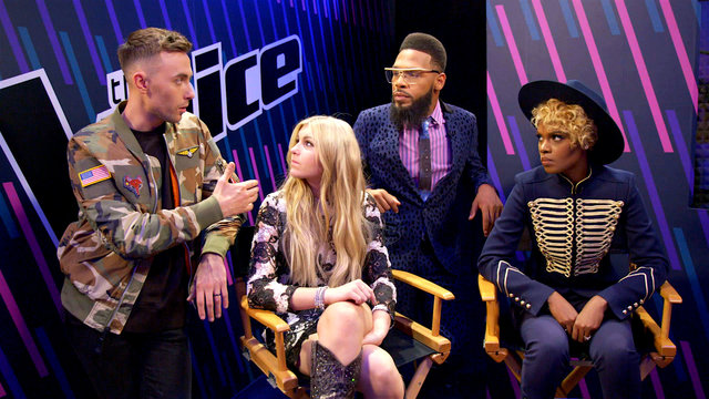 After the Elimination: Brennley, Hunter, TSoul and Vanessa