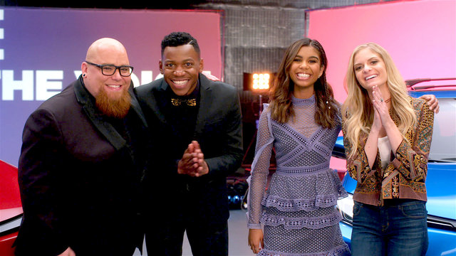 Toyota Presents: the Voice Final 4 Music Videos