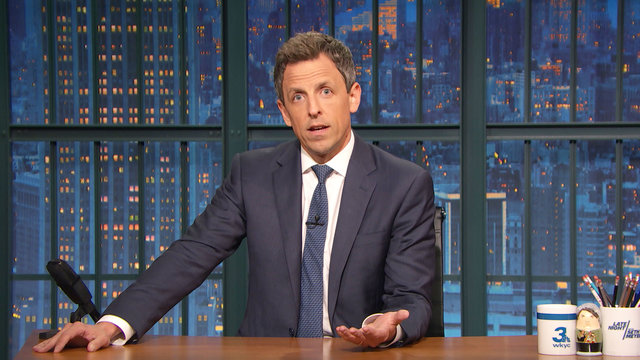 Seth Meyers Addresses the Manchester Concert Bombing