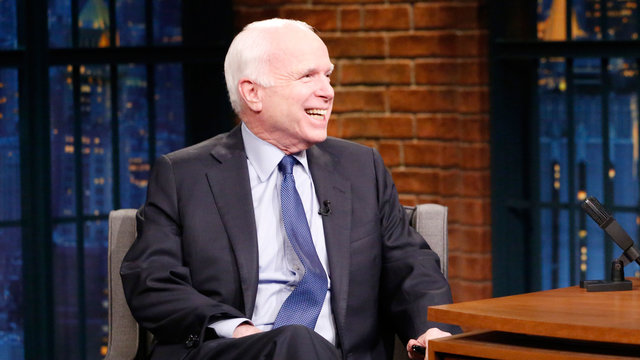 Senator John McCain on Media Frenzy and Twitter Feuds with Russia