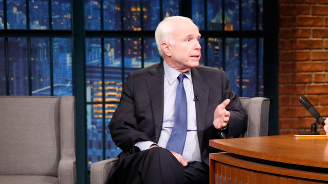 Senator John McCain Approves of Trump's Syria Missile Strike