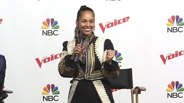'The Voice': Alicia Keys Celebrates Victory Over Blake Shelton