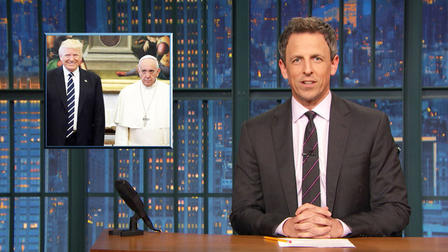 Donald Trump's Private Pope Meeting, Marathon Proposal - Monologue