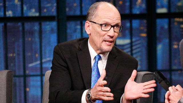 "DNC Chair Tom Perez Critiques the GOP's ""Disaster"" Health Care Bill"