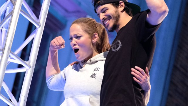 Erika Christensen's Ninja Warrior Run