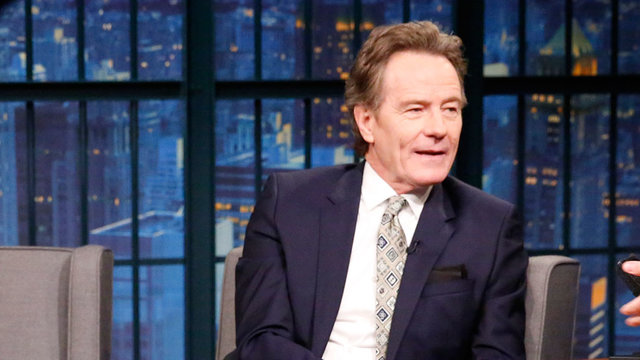 Bryan Cranston Didn't Speak on Mondays While on Broadway