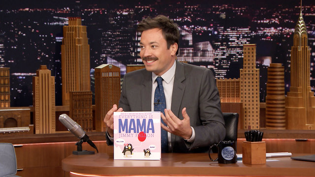 "Jimmy Announces His Latest Kids' Book ""Everything Is MAMA"""