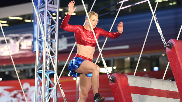 Jessie Graff at the Daytona Beach Qualifiers