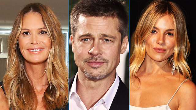 Is Brad Pitt Dating Elle Macpherson, Sienna Miller Or Neither?