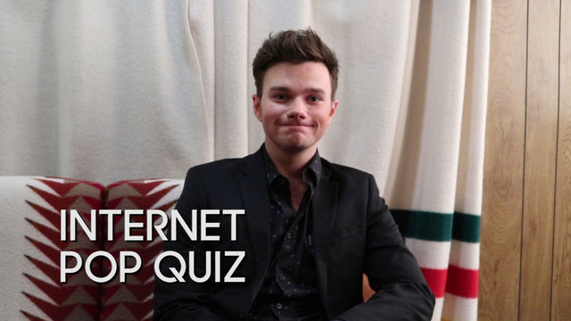 Internet Pop Quiz: Chris Colfer
