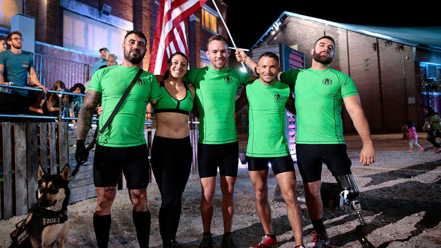 Wounded Warriors Become Spartans
