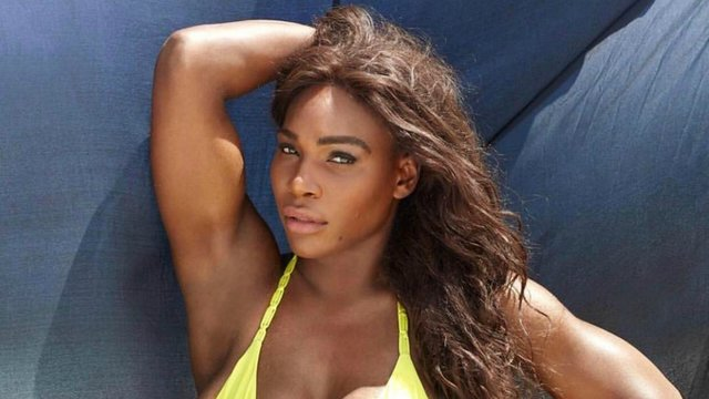 Pregnant Serena Williams Stuns On Nearly Nude Vanity Fair Cover – See Her Growing Bump!