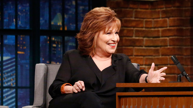 Joy Behar's Italian-Speaking GPS Threatened Her