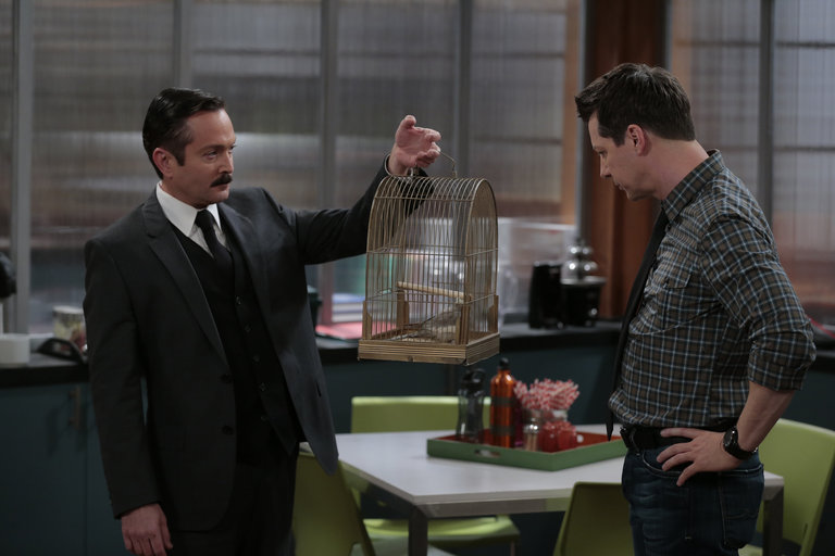 "Photo from the episode ""I Know Why the Caged Bird Zings"""