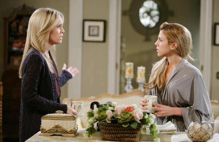 Abigail makes a difficult confession to Jennifer.