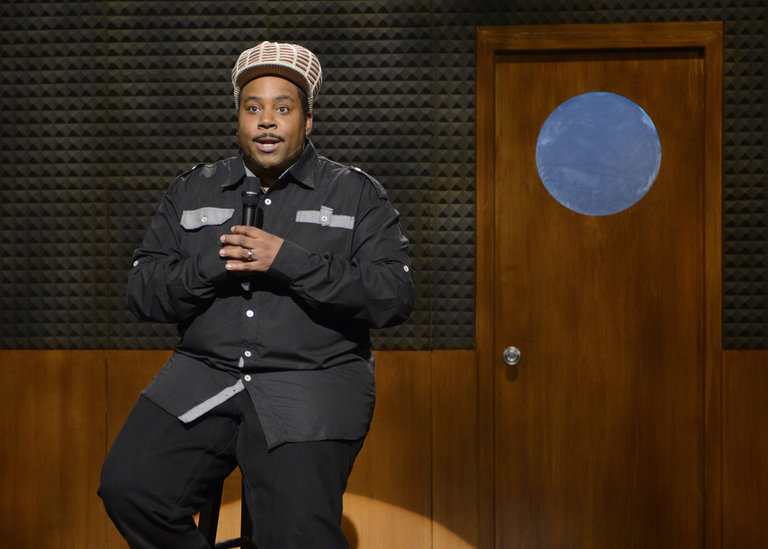 "Kenan Thompson in ""Before They Were Stars"" on Saturday Night Live on January 18, 2014."
