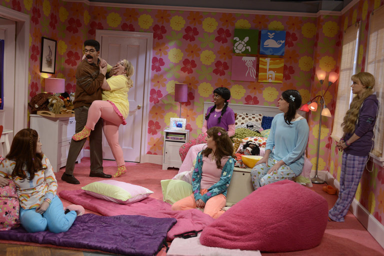"""Slumber Party"" on Saturday Night Live on January 18, 2014."